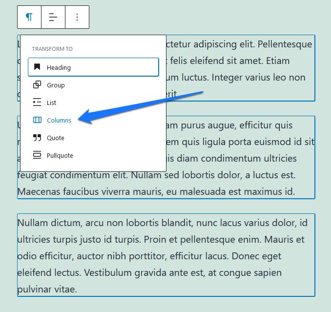 blok korisnički interfejs