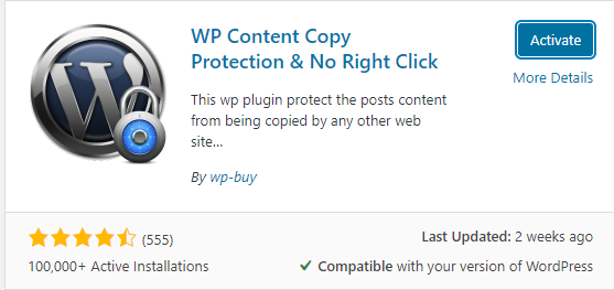 Plugin Wp Content Copy